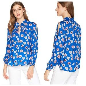 Lucky Brand Umi Floral Peasant Top